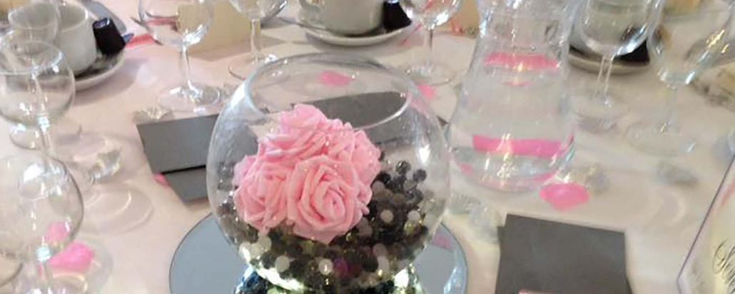 Party & Wedding Venue decor, centre pieces and photobooths