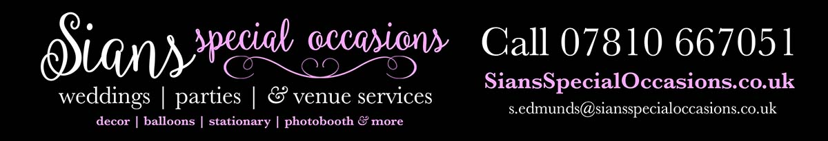 Sian Special Occasions - wedding, party & venue decor services
