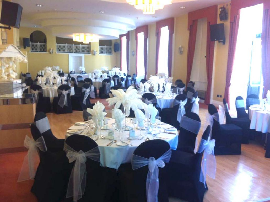 Venue decor in Twycross, Midlands and Shropshire
