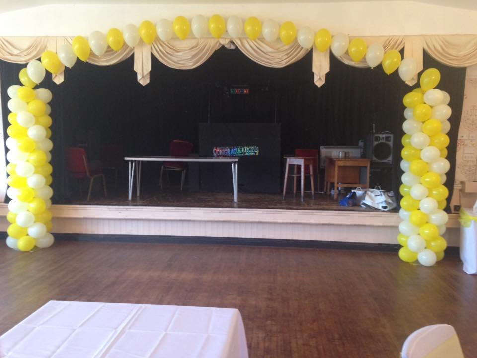 Wedding balloon decorations in Perton Wolverhampton