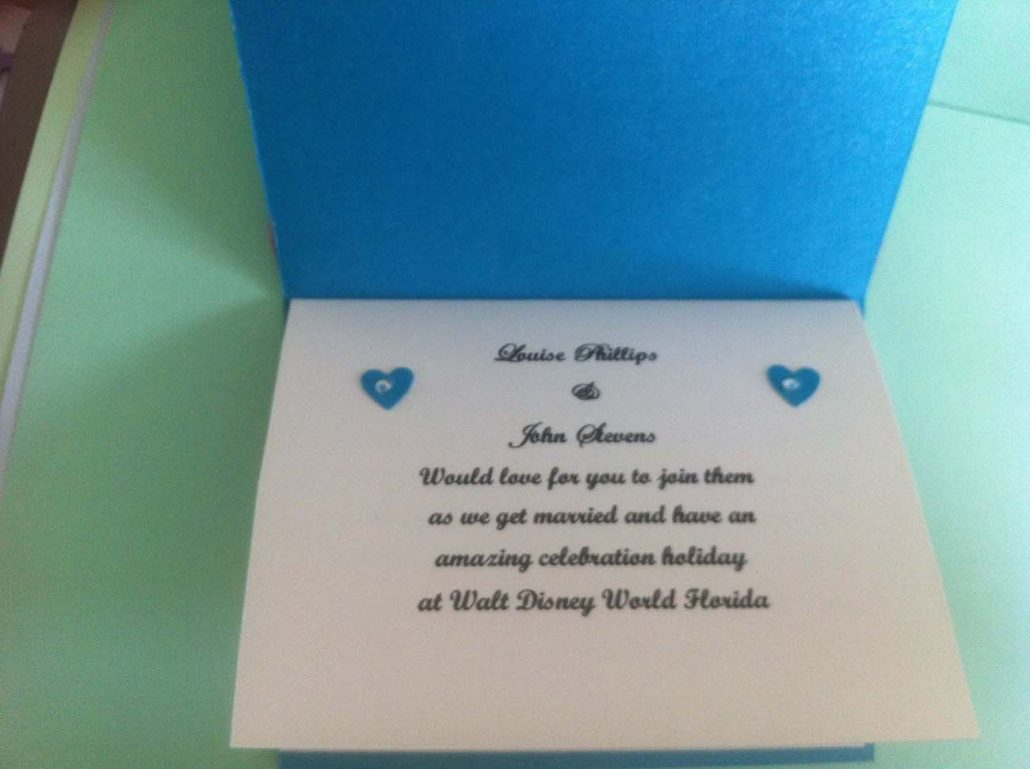 Passport invitations for weddings, parties and special occasions