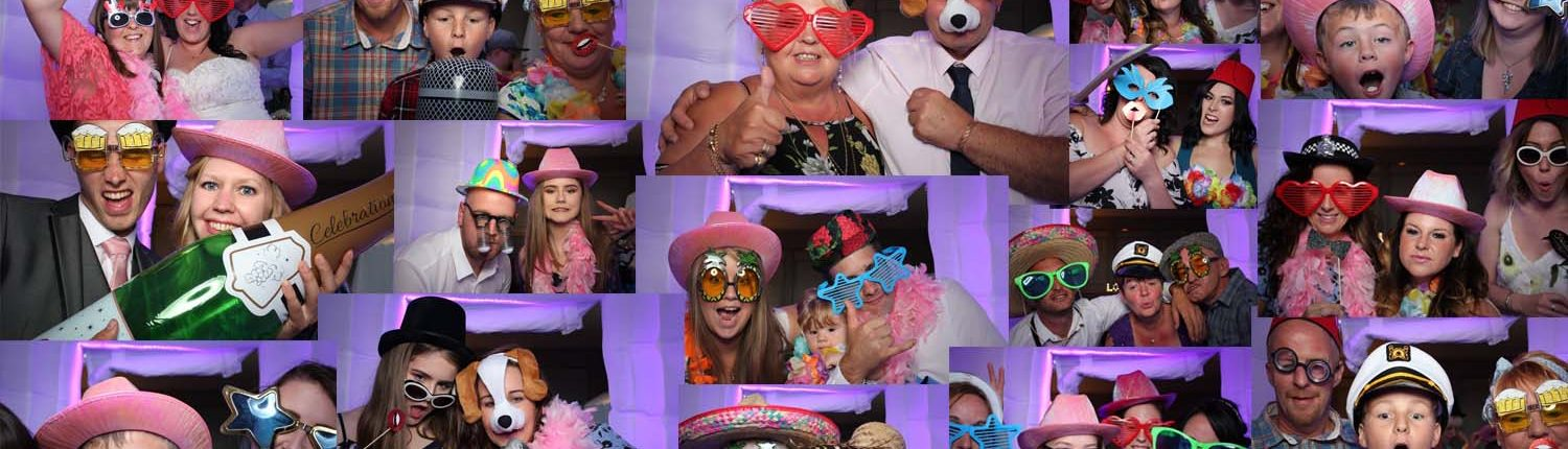 Photo booth fun hire in Cannock and Midlands