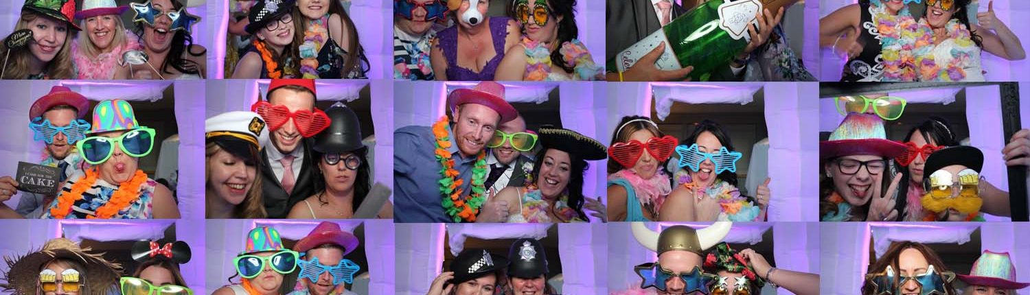 Inflatable photo booth hire services in Rugeley, Staffordshire