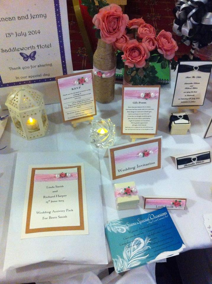 Wedding stationery services in