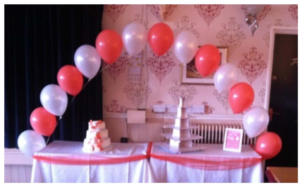 Wedding and Party Balloons - Sians Special Occasions